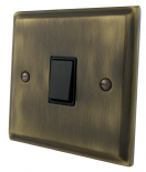 Deco Plate Antique Bronze 20 Amp Switches